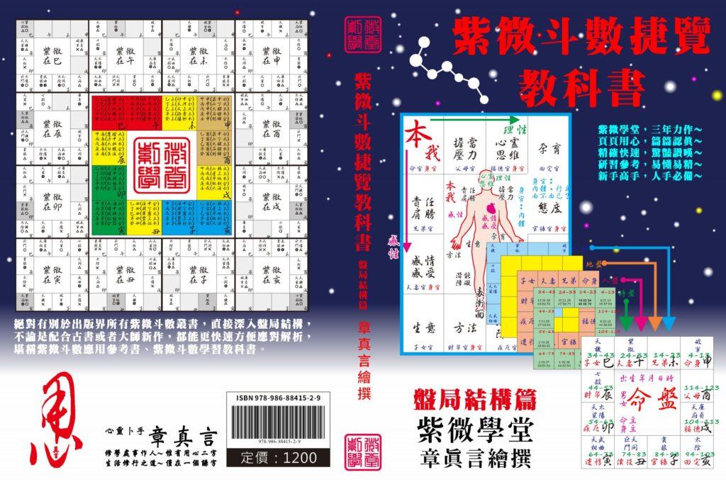 紫微斗數捷覽教科書 ISBN 978-986-88415-2-9